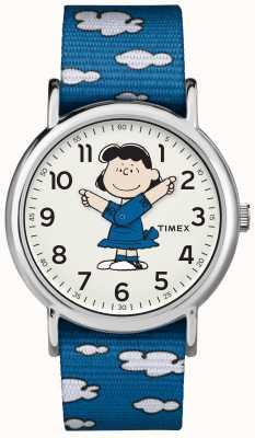 Timex Niebieski pasek lucy zegarek TW2R413006B