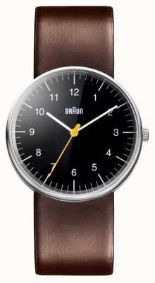 Braun Męski zegarek z brązowego skórzanego paska BN0021BKBRG