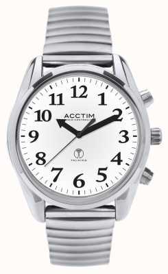 Acctim Sterowany radiem rozmowny rozszerzalny zegarek 60547