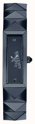 Jean Paul Gaultier Damska niebieska tarcza mini ze stali nierdzewnej JP8504004