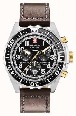 Swiss Military Hanowa Obudowa ze stali nierdzewnej z chronografem 06-4304.04.007.05