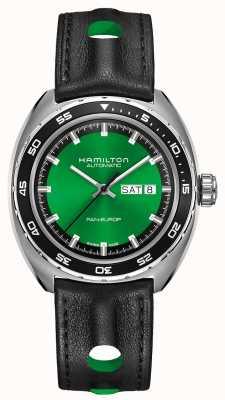 Hamilton American classic pan europ auto zielona tarcza H35415761