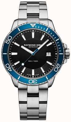 Raymond Weil Zegarek ze stali nierdzewnej w kolorze niebieskim Tango 8260-ST3-20001