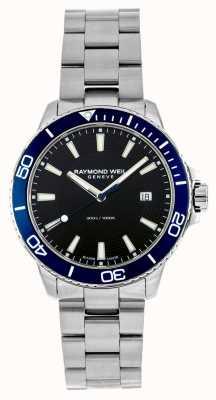 Raymond Weil Niebieski zegarek ze stali nierdzewnej Tango 8260-ST3-20001