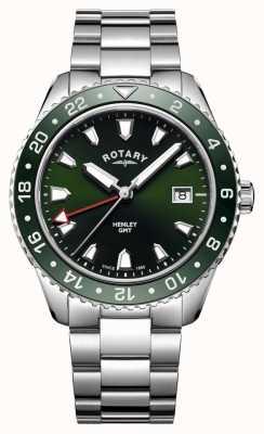 Rotary Męski zegarek kwarcowy ze stali nierdzewnej w stylu henley GB05108/24