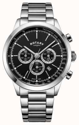 Rotary Męski chronograf ze stali nierdzewnej GB05253/04