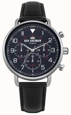 Ben Sherman Męski wojskowy zegarek chronograf z portobello WB068UB