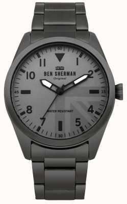 Ben Sherman Męski zegarek wojskowy Carnaby WB074BSM