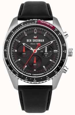 Ben Sherman Chronograf ronnie sunray wybrał czerwone pasemka WBS108RB