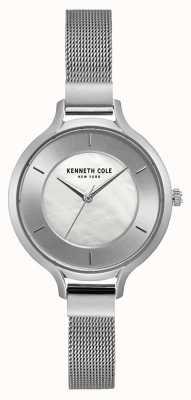Kenneth Cole Srebrna tarcza ze stali szlachetnej New York KC15187001