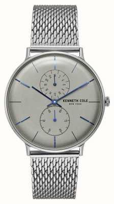 Kenneth Cole Siatkowa bransoleta ze stali szlachetnej New york z kwarcem KC15188002
