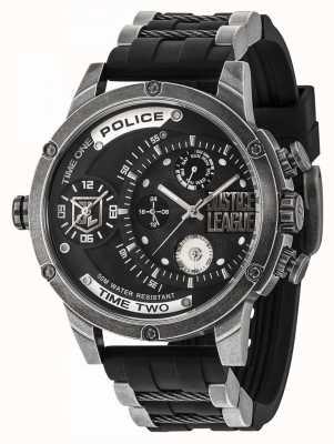 Police Limitowana edycja zegarka Justice League z limitowanej edycji 14536EDG