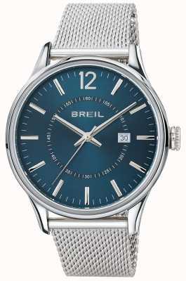 Breil Contempo bransoleta z niebieskiej tarczy ze stali nierdzewnej TW1560
