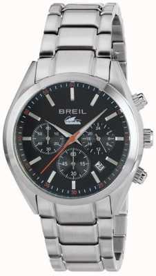 Breil Manta City ze stali nierdzewnej chronograf czarna tarcza TW1606