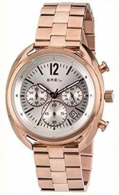 Breil Beaubourg ze srebrną tarczą ze stali nierdzewnej ipr chronograf TW1674