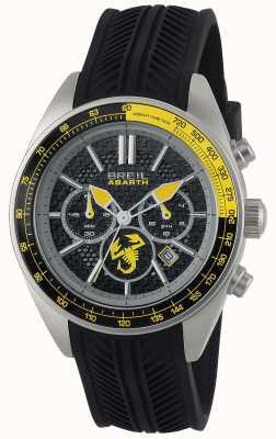 Breil Abarth stal nierdzewna czarny chronograf czarny i żółty TW1691