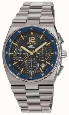 Breil Manta sport chronograf ze stali nierdzewnej bransoleta z tarczą TW1641