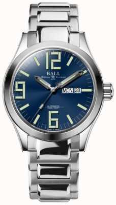 Ball Watch Company Inżynier geneza 43mm niebieska tarcza NM2028C-S7-BE
