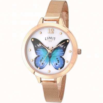 Limit Zegarek damski z tajskiego motyla z różowego złota 6271.73