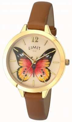 Limit Tajemniczy skórzany zegarek skórzany dla kobiet 6275.73