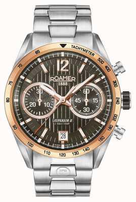 Roamer Męski zegarek z najwyższej klasy zegarkami chrono ii 510902496450