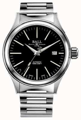 Ball Watch Company Strażak automatyczna czarna tarcza 40 mm NM2098C-S20J-BK