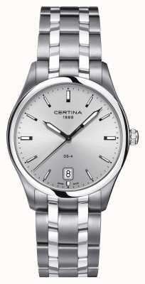 Certina Męski zegarek ze stali nierdzewnej ds-4 C0224101103100