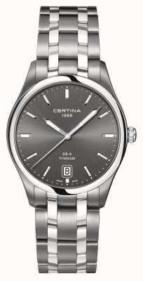Certina Mens ds-4 tytanowy zegarek C0224104408100