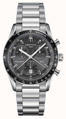 Certina Męski zegarek chronografu ds-2 przed zapłonem C0244471108100
