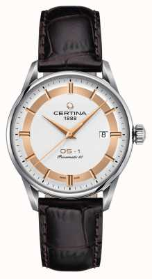 Certina Zegarek męski DS-1 Powermatic 80 Himalaya Special Edition C0298071603160