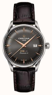 Certina Mens ds-1 powermatic 80 automatyczny zegarek C0298071608101