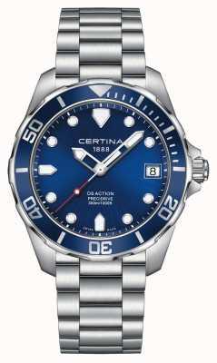 Certina Mens ds action precidrive 300m zegarek C0324101104100