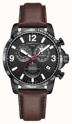 Certina Męski zegarek na podium chronometr C0346543605700
