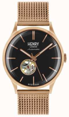 Henry London Męskie bransoletki z dzianiny w romby HL42-AM-0286