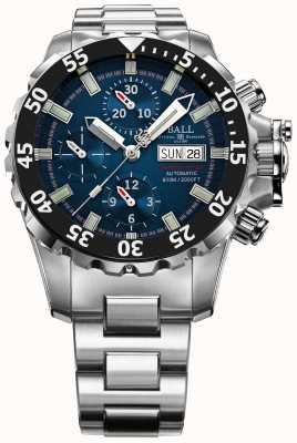Ball Watch Company Mężczyzna inżynier niebieski nedu węglowodór 600m automatyczne chrono DC3026A-SC-BE