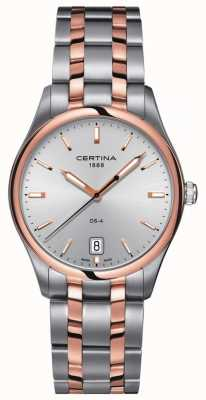 Certina Męski zegarek kwarcowy ds-4 w dwóch odcieniach C0224102203100