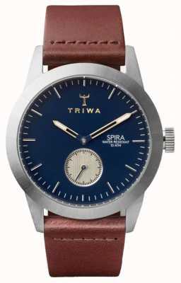 Triwa Duke spira brown classic silver SPST104-CL010212