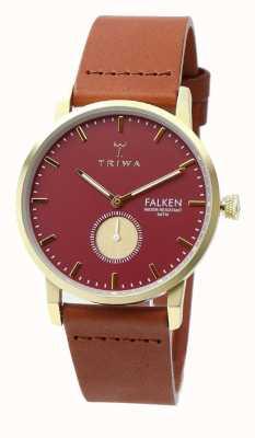 Triwa Damska rubinowa falkenowa brązowa klasyczna FAST117-CL010212