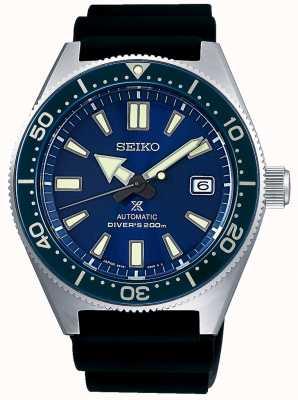 Seiko Prospex niebiesko niebieska tarcza niebieska ramka śruba dół korony SPB053J1