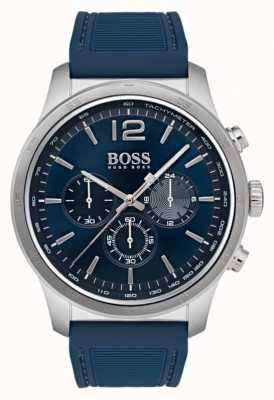 Hugo Boss Męski profesjonalny zegarek chronograf niebieski 1513526