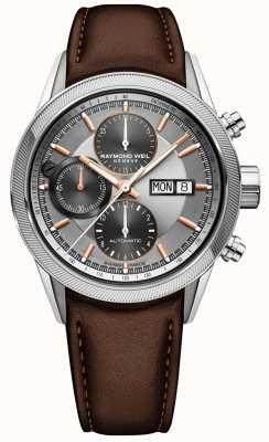 Raymond Weil Męski automatyczny zegarek z chronografem 7731-SC2-65655