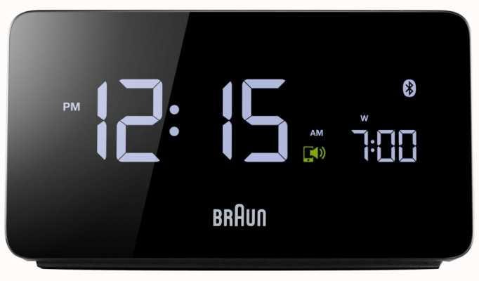 Braun Cyfrowy budzik bluetooth BNC020BK