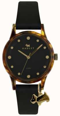 Radley Damska czarna koperta 33mm czarna czarna RY2640