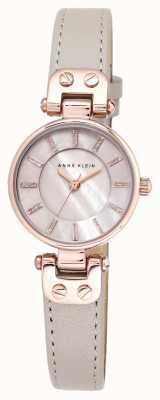 Anne Klein Womens lynn watch powstaje złoty skórzany pasek etui AK/N1950RGTP