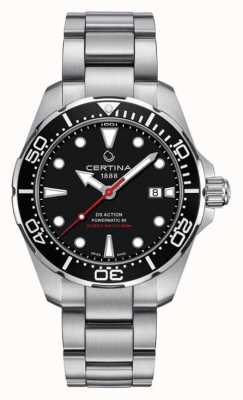 Certina Męski zegarek ds action diver powermatic 80 C0324071105100
