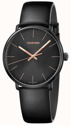 Calvin Klein Minimalistyczny męski zegarek w samo południe K8M214CB