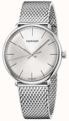 Calvin Klein Męskie zegarki ze stali nierdzewnej w stylu południowym K8M21126