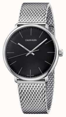 Calvin Klein Męskie zegarki z czarnym zegarkiem K8M21121