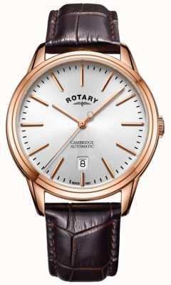 Rotary Męski zegarek marki Cambridge w kolorze różowego złota GS05252/02