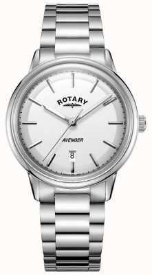 Rotary Męski zegarek mściciel ze stali nierdzewnej GB05340/02